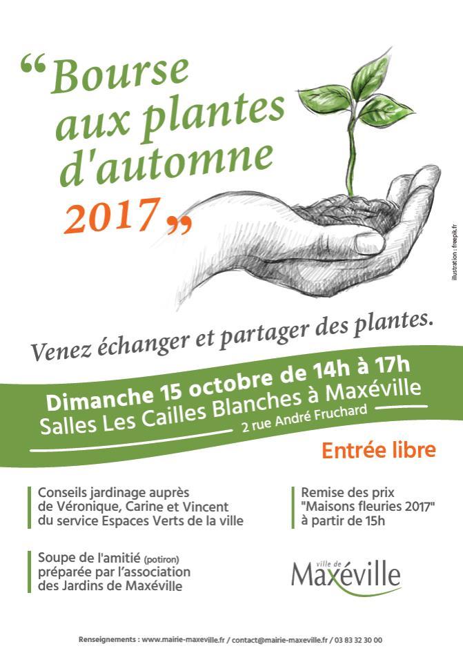 Bourse aux plantes automne